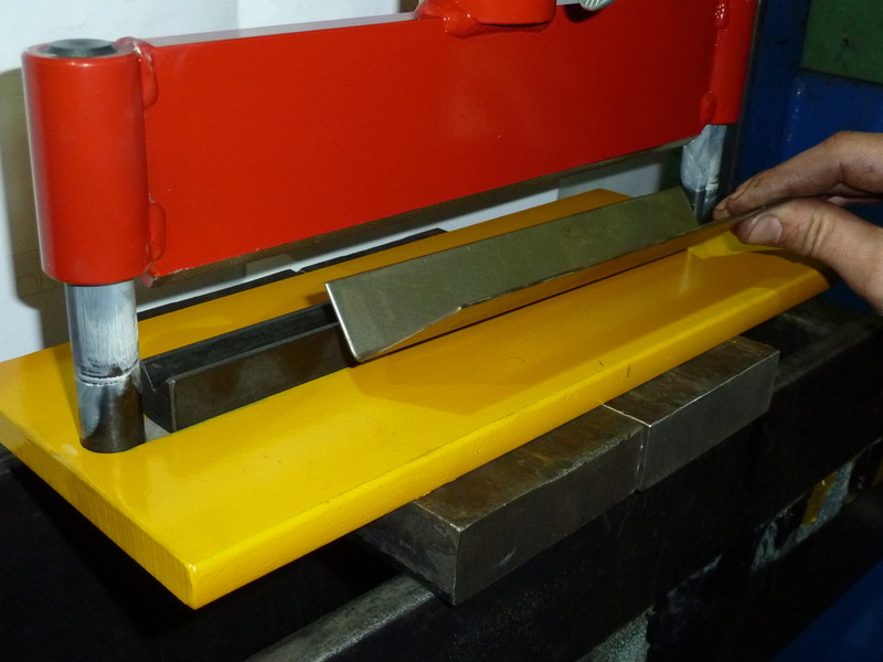 sheet metal folder